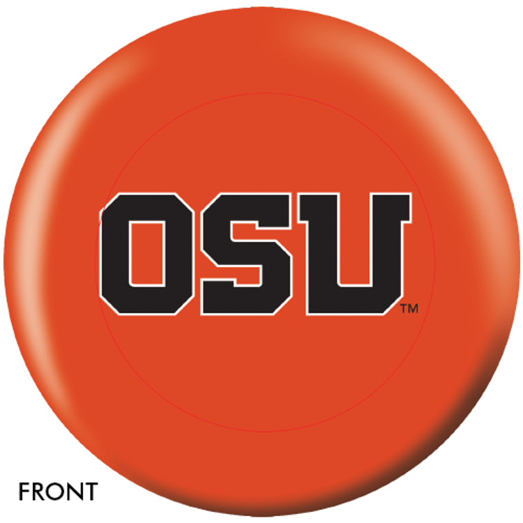 OTB NCAA Oregon State University Bowling Ball