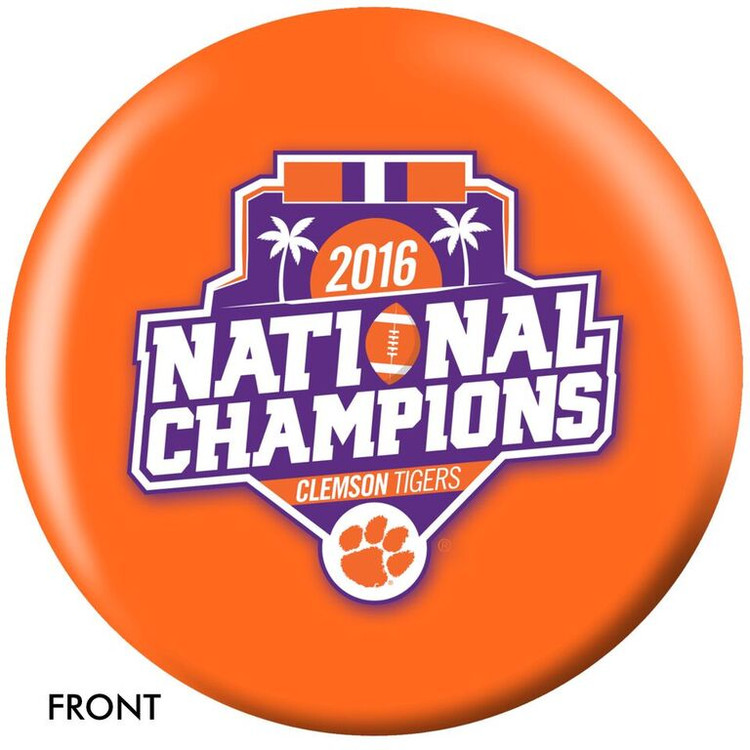 OTB NCAA Clemson 2016 National Champions Bowling Ball