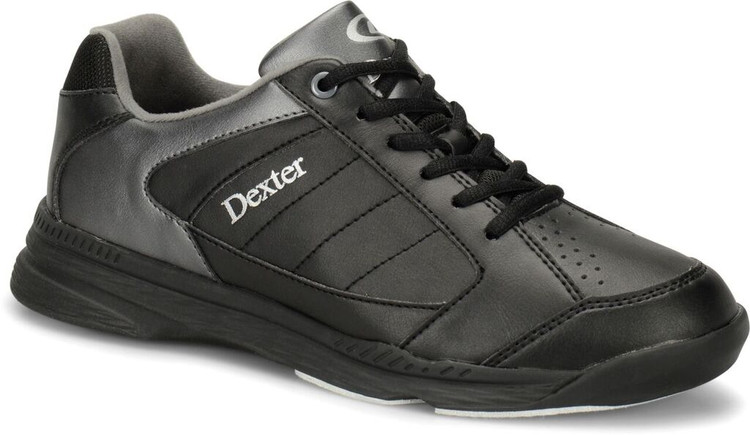 Dexter Ricky IV Mens Bowling Shoes Black Alloy Wide Width
