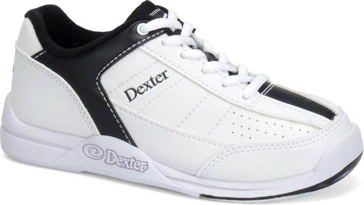 Dexter Ricky IV Mens Bowling Shoes White Black
