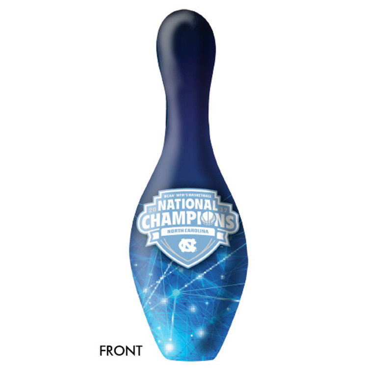 NCAA Bowling Pin North Carolina 2017 National Championship
