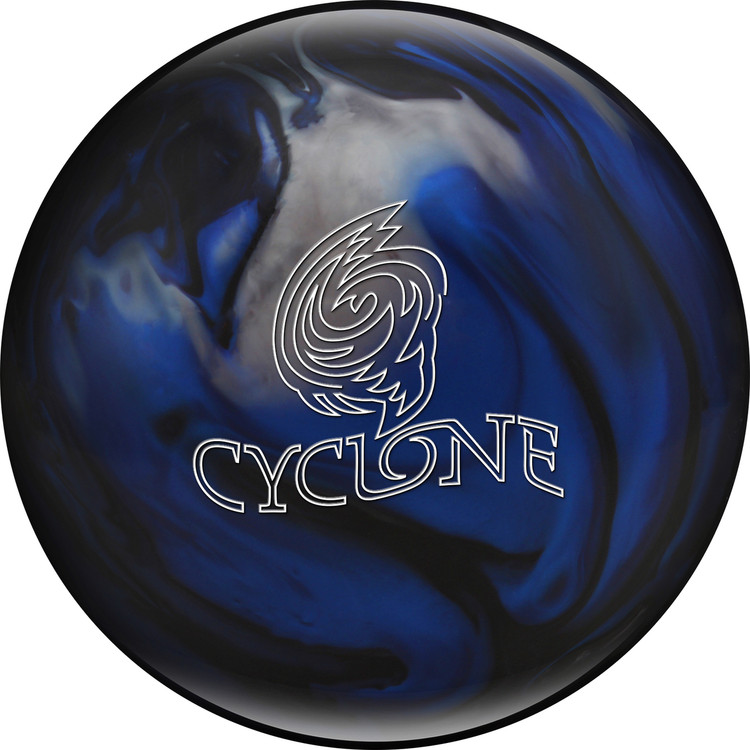 Ebonite Cyclone Bowling Ball Blue Black Silver
