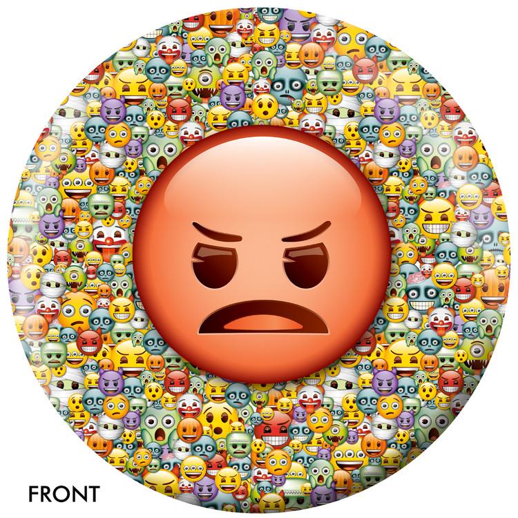 Emoji Steamed Devil Front View