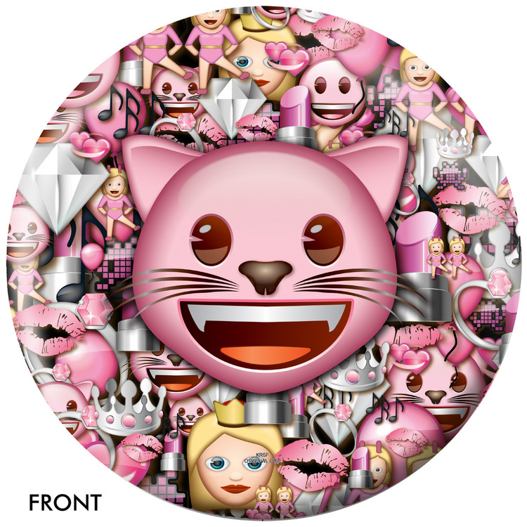 Emoji Cats Rule Front View