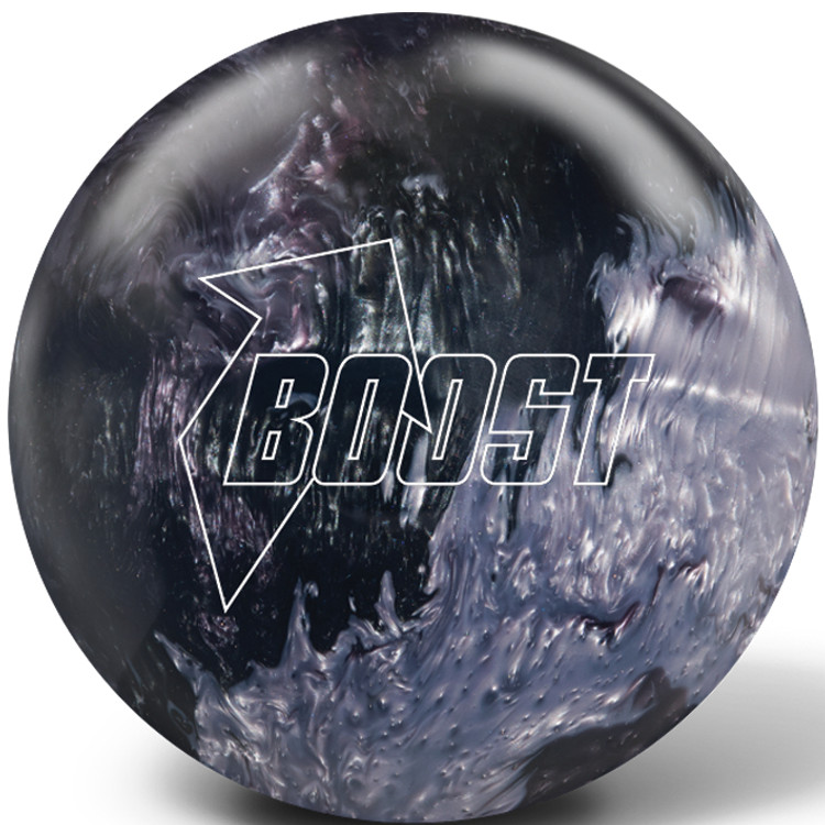 Global Boost Bowling Ball Black Gray Silver