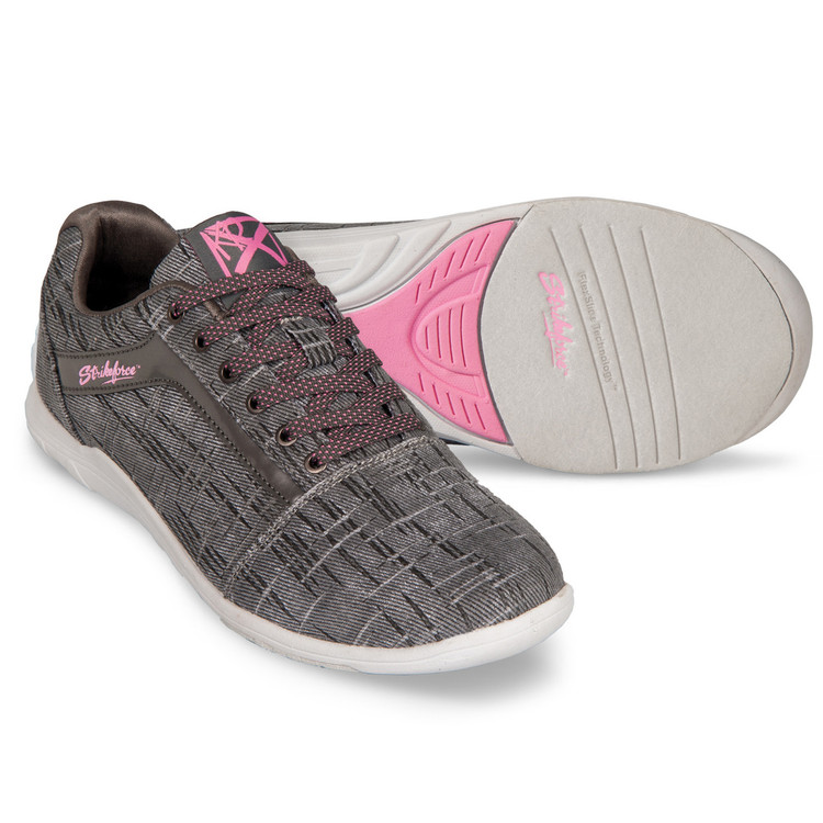 KR Strikeforce Nova Lite Women's Bowling Shoes Ash Hot Pink