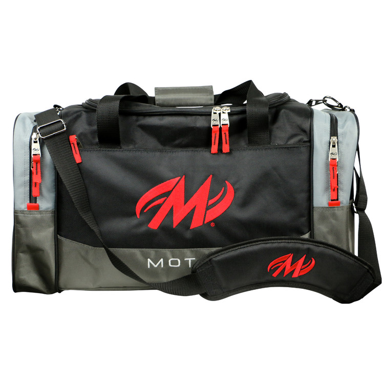 Motiv Shock 2 Ball Double Tote Bowling Bag Black