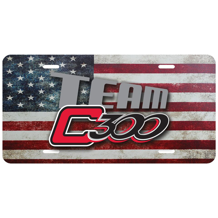 Columbia 300 Team C300 Car License Plate