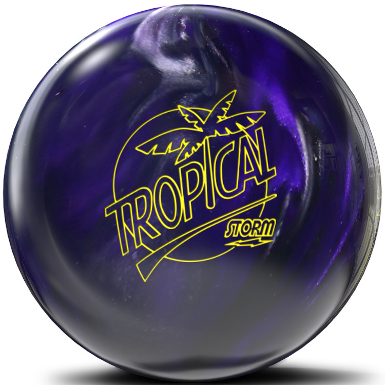 Storm Tropical Storm Violet Charcoal Bowling Ball