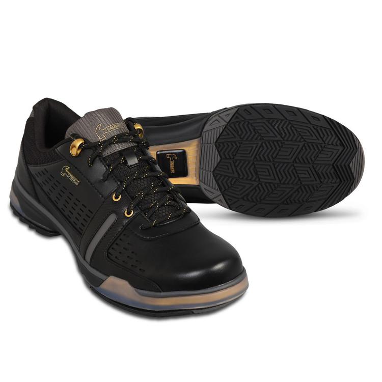 Hammer Boss Mens Performance Bowling Shoes Black Gold
