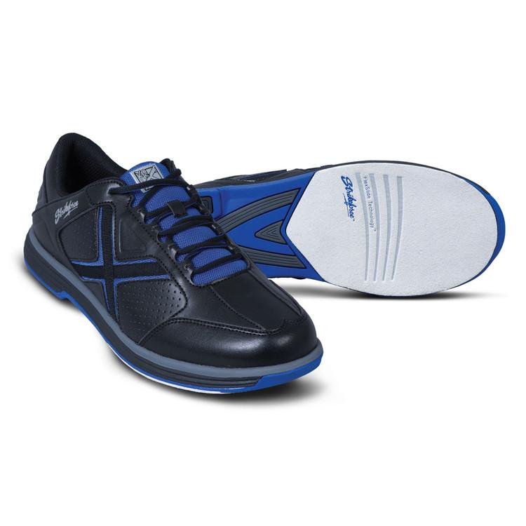 KR Strikeforce Ranger Mens Bowling Shoes Black Blue