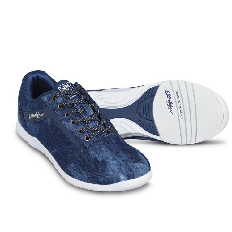 KR Strikeforce Nova Lite Women's Bowling Shoes Denim Sparkle