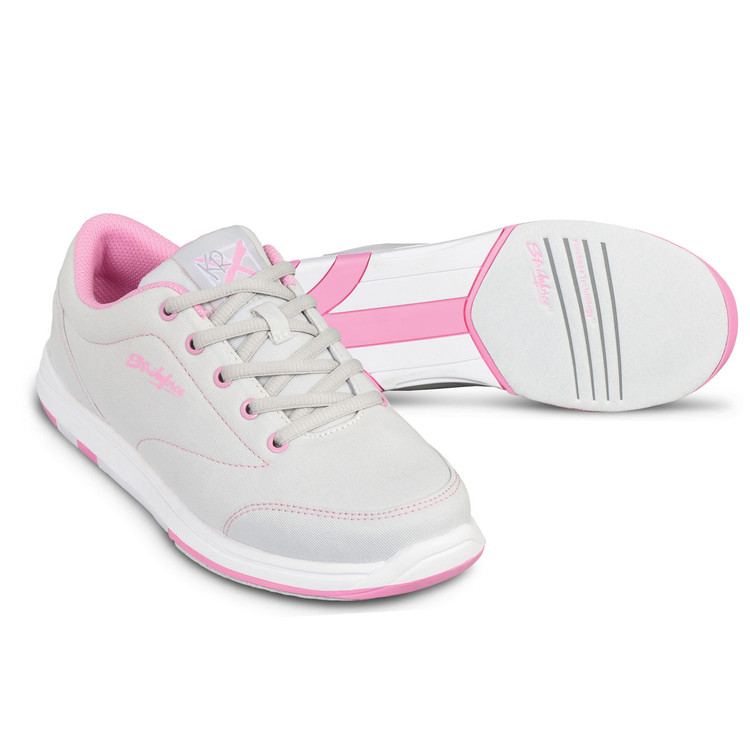 KR Strikeforce Chill Women's Bowling Shoes Grey Pink