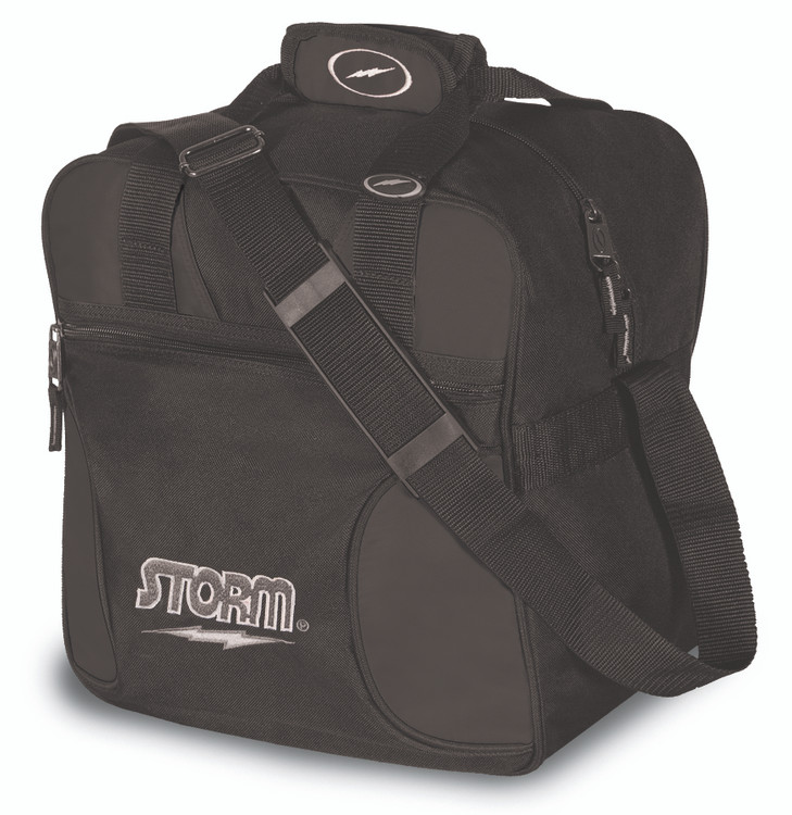 Storm Solo 1 Ball Tote Bowling Bag Black