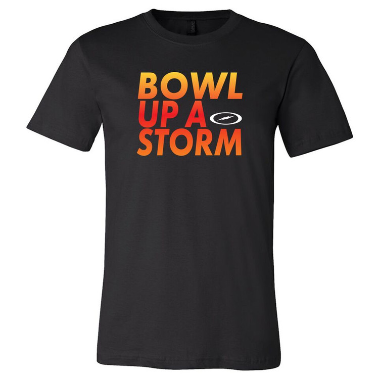 Storm Bowl Up A Storm Mens Tee