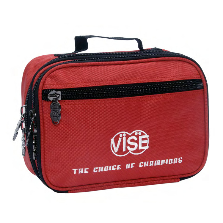 Vise Accessory Bag Red