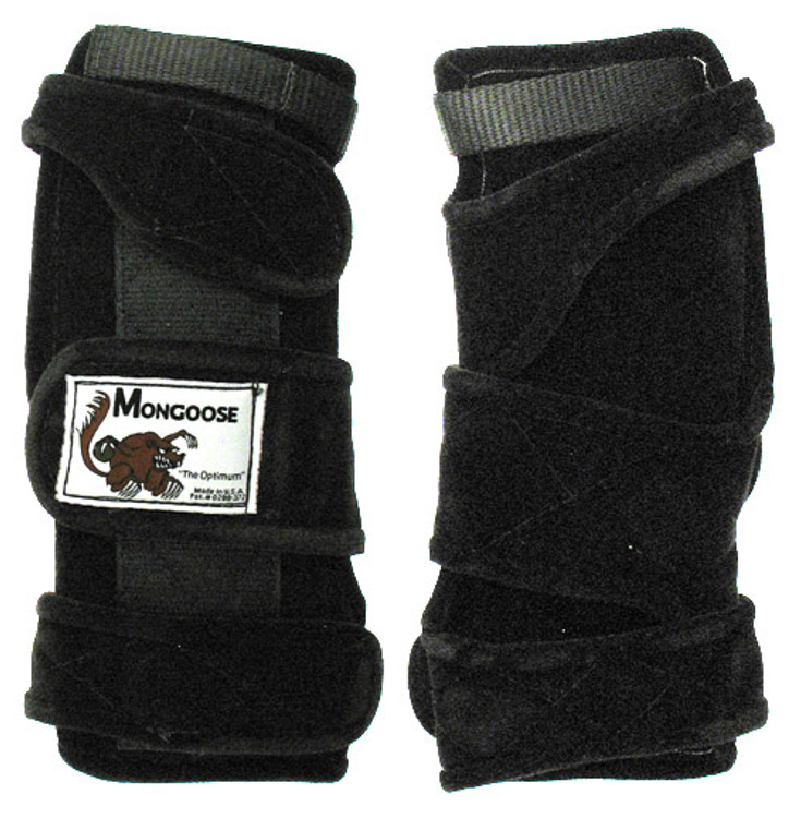 Mongoose Optimum Left Hand Wrist Positioner Black