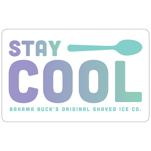 Stay Cool Gift Card
