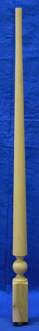 Westbury Square Bottom Pin Top Baluster