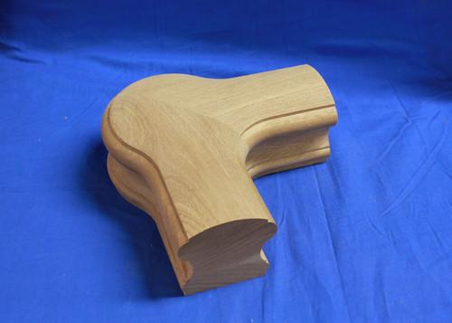 """Custom Sapele 3"""" Handrail"""