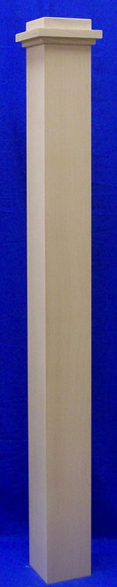 K4185 Craftsman Box Newel Post