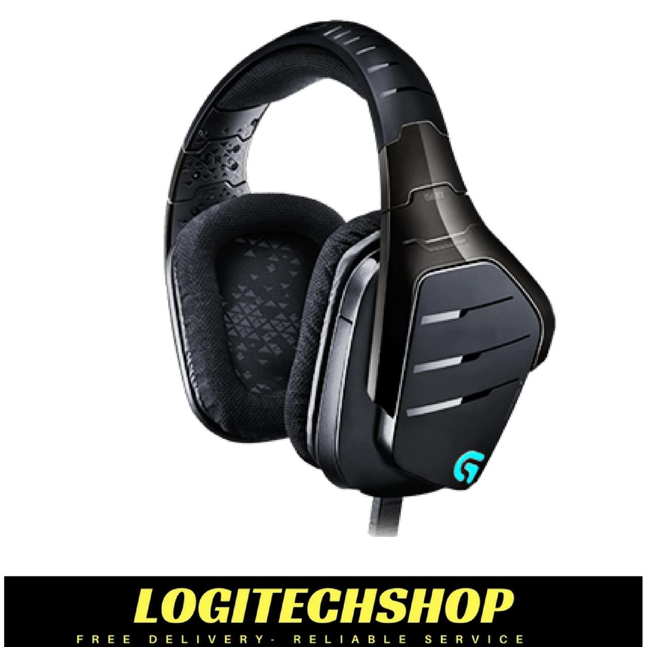 Logitech G633 Artemis Spectrum RGB 7.1 Surround Gaming Headset ...