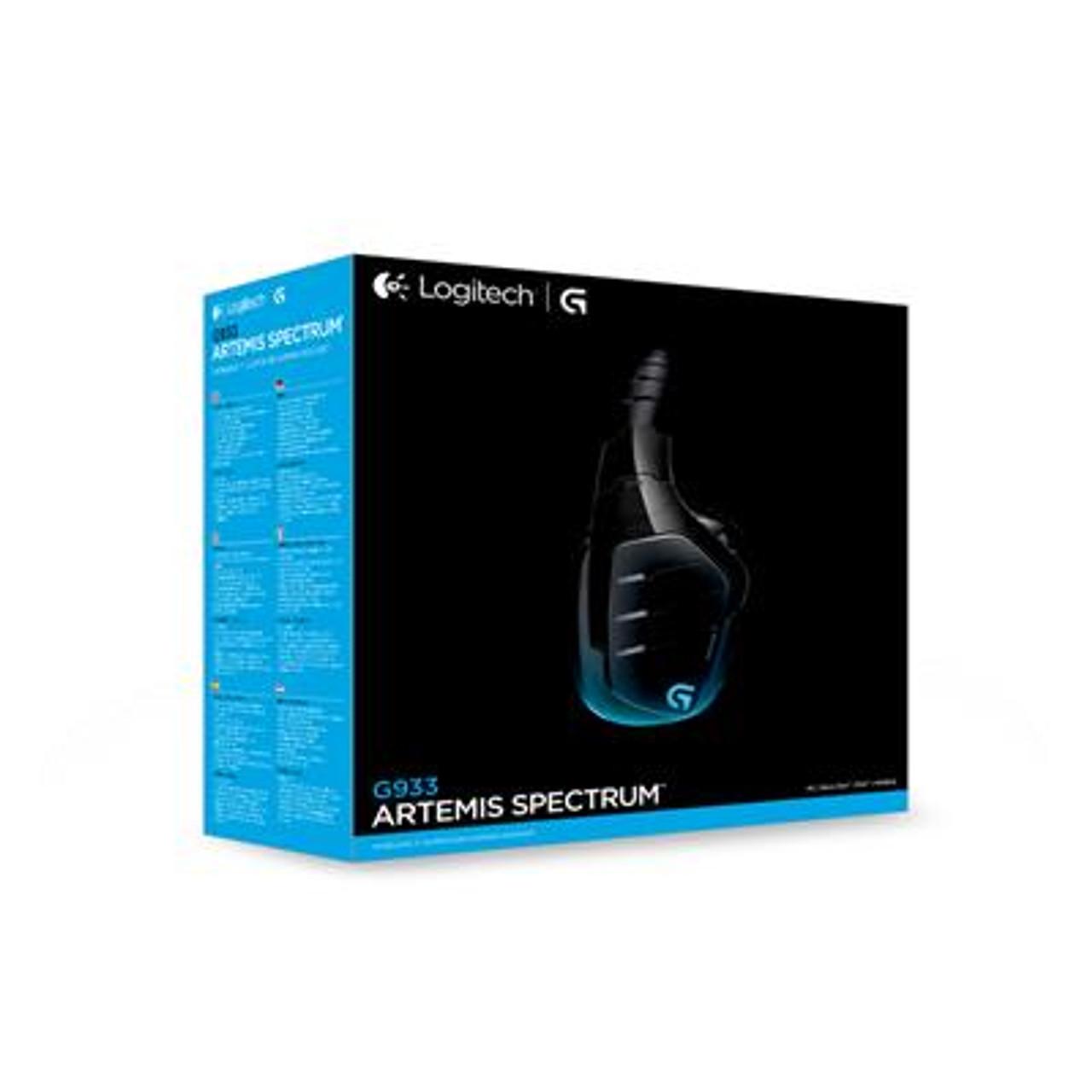 Logitech G933 Artemis Spectrum Wireless 7.1 Surround Sound Gaming ...