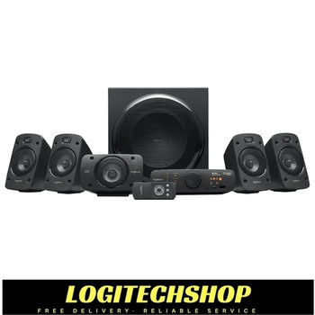 Logitech Z906 5.1 Surround Speaker System 500 Watts Rms