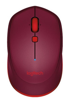 Logitech M337 Bluetooth Mouse- Red