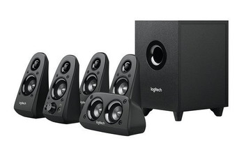 Z506 surround sound speaker with this 5.1 speaker system that includes left, right and center channels, two rear satellite speakers and one sub-woofer.