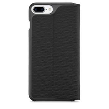 Logitech Hinge Flexible Wallet Case For iPhone 7 Black withstand daily wear and tear