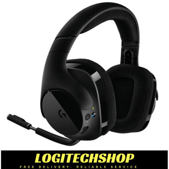 Logitech G533 designed to be a durable, yet lightweight headset that you can wear for hours.