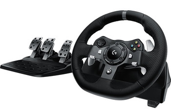 Logitech G920 Driving Force Racing Wheel for Xbox One™ & PC + Shifter Combo