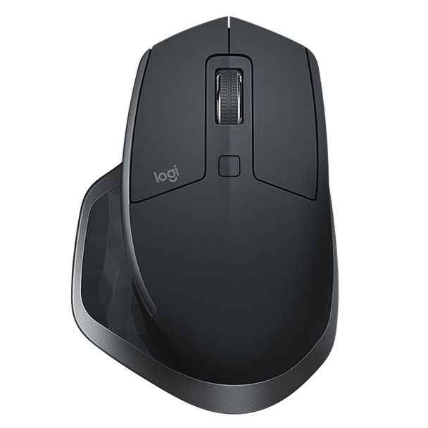 Logitech MX Master 2S Wireless Mouse work and play using up to 3 different devices with this versatile wireless mouse