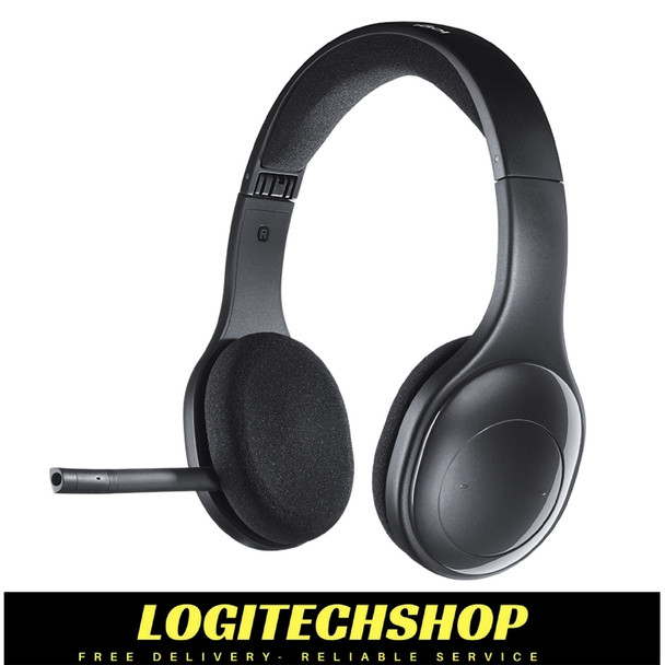 Logitech H800 right-sided boom can be tucked inside the headband and out of the way when you're not using it.