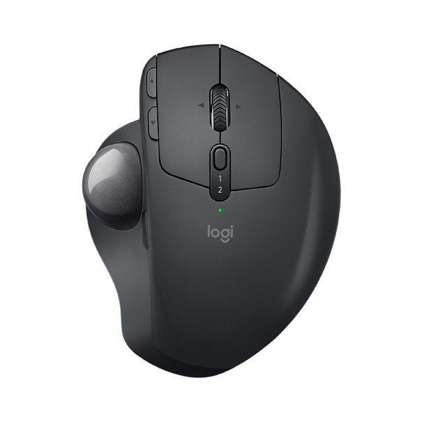 Logitech MX Ergo Advanced Wireless Trackball Mouse for Windows PC and Mac