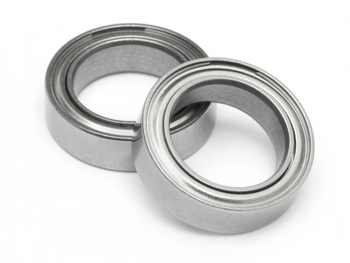 3x7x3 Metal Shielded Bearing MR683-ZZ
