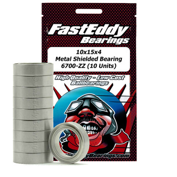 Traxxas 4612 Metal Shielded Replacement Bearing 10x15x4 (10 Units)