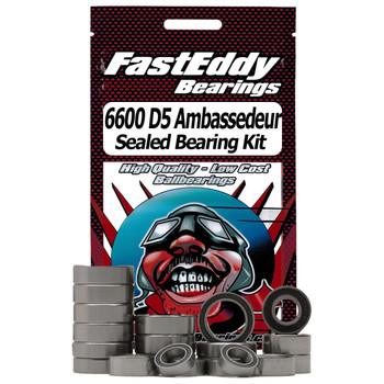 Abu Garcia 6600 D5 Ambassedeur-Custom Fishing Reel Rubber Sealed Bearing Kit