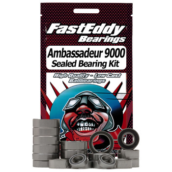 Abu Garcia Ambassadeur 9000 Baitcaster Fishing Reel Rubber Sealed Bearing Kit