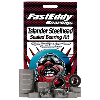 Islander Steelhead Center Pin Fishing Reel Rubber Sealed Bearing Kit