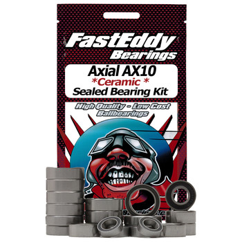 Axial AX10 Ceramic Rubber Sealed Bearing Kit (All)