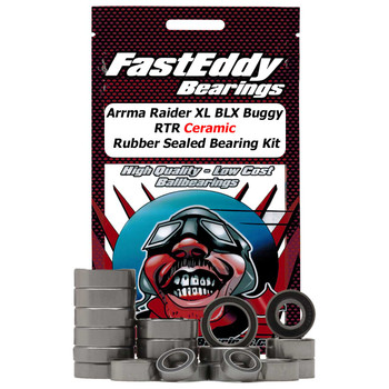 Arrma Raider XL BLX Buggy RTR Ceramic Rubber Sealed Bearing Kit