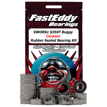 SWORKz S350T Buggy Ceramic Rubber Sealed Bearing Kit