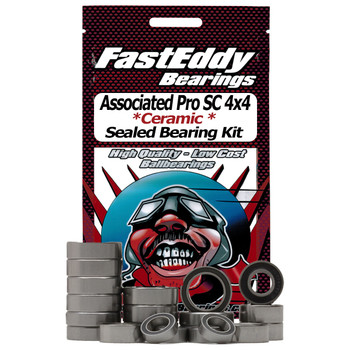 Associated Pro SC 4x4 Short Course RTR Ceramic Rubber Sealed Bearing Kit
