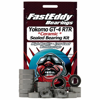 Yokomo GT-4 RTR Ceramic Rubber Sealed Bearing Kit