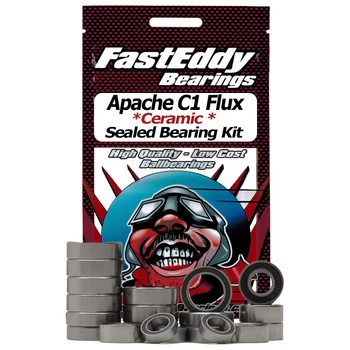 HPI Apache C1 Flux Ceramic Rubber Sealed Bearing Kit