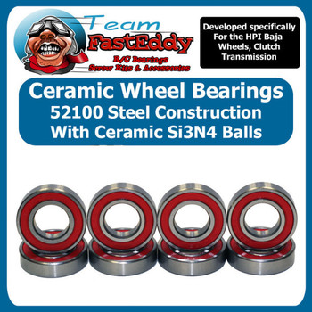 Ceramic Wheel Bearing Set HPI Baja