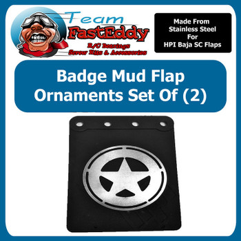 Mud Flap Ornament  Badge