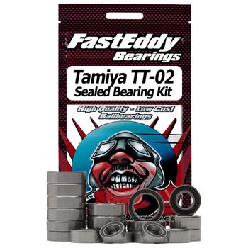 Tamiya TT-02 Rubber Sealed Bearing Kit